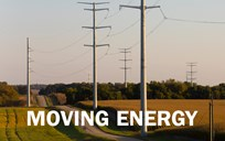 moving energy graphic